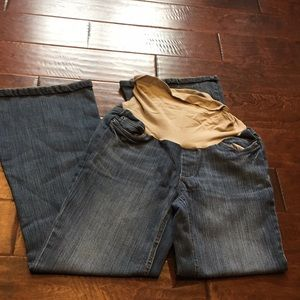Over Belly Maternity Jeans